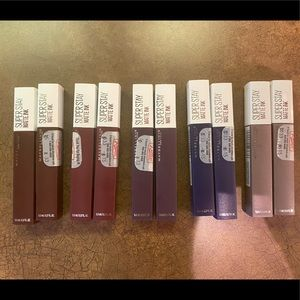 NEW Maybelline Super Stay Matte-85,112,110,105,90